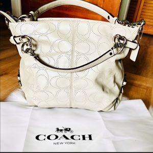 "COACH ""Brooke"" Leather Hobo Bag"